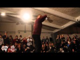Juice vs. Emjay RAW CIRCLES 2012, Belgium Popping Final