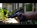 Dobermann compact,отстрел стоя с рук на 50 метров