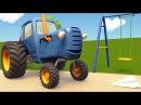 Развивающие мультики про машинки | Синий Трактор Гоша - Все серии - Учимся считат ...