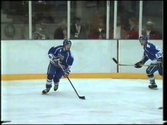 26.02.1994 г., ОИ в Лиллехаммере, матч Россия - Финляндия (0:4)