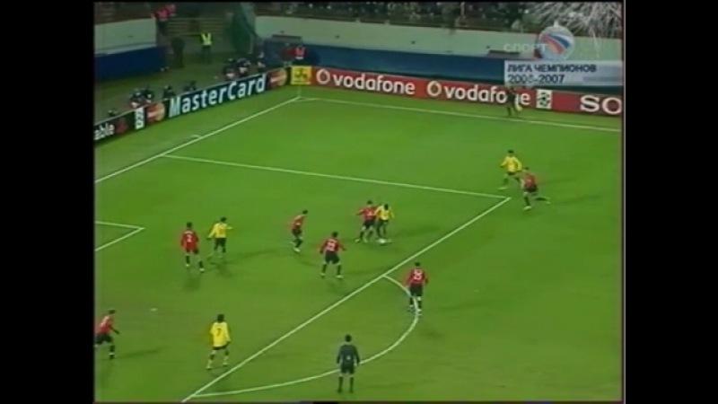 Лига чемпионов 2006 07 Группа G 3 тур ЦСКА Россия Арсенал Англия НТВ 2 тайм видео ролик смотреть на