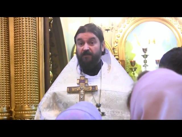 Каждое воскресенье в храм! Протоиерей Андрей Ткачёв