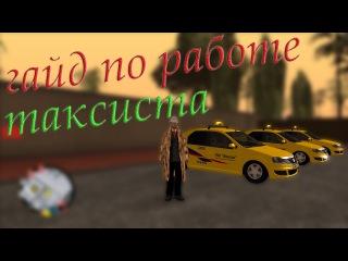 Обзор мта Гайд по: Evolution Reborn RP работа таксиста gta sa