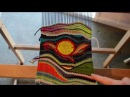 Tapestry style weaving on Rigid heddle loom, part 4 - my finished work and weaving shapes