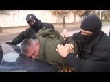 Видео задержания диверсантов в Севастополе 10.11.2016