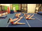 Workout Russian gymnasts  Разминка Русских гимнасток