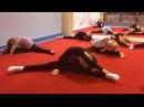 Групповой урок с тренером Гимнастика для детей Как сесть на шпагат