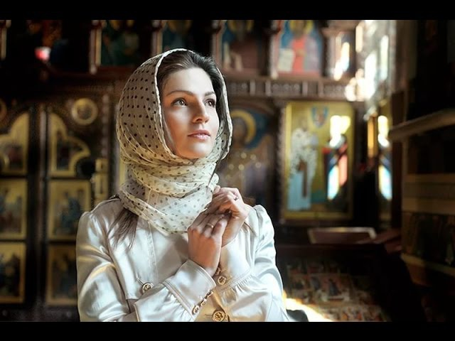 Почему женщина в храме покрывает голову
