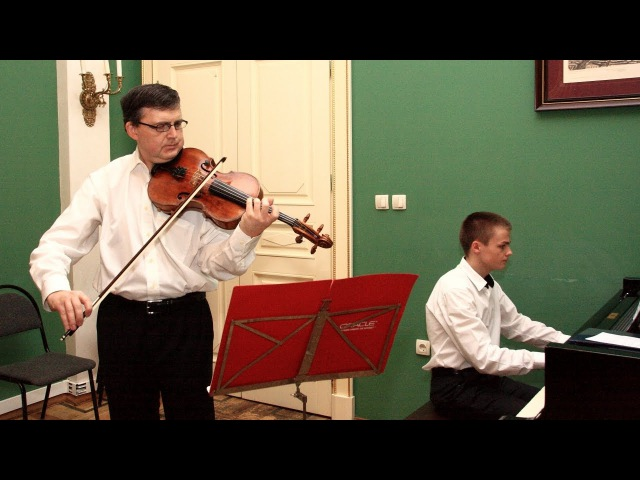 Sergei Dubov Mikhail Dubov play Benda - Grave (live in Moscow, 2015)