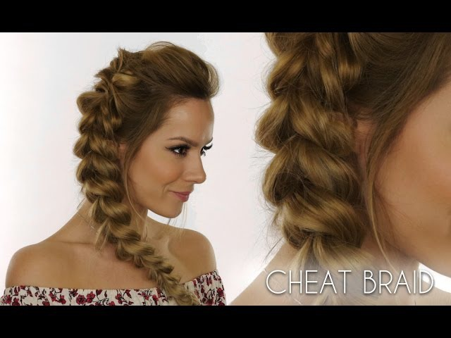 Blown-Out Braid Using Hair Elastics | Shockwaves Baywatch Movie | Shonagh Scott