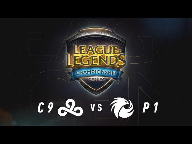 C9 vs. P1 - Week 7 Game 1 | NA LCS Summer Split | Cloud9 vs. Phoenix1 (2017)