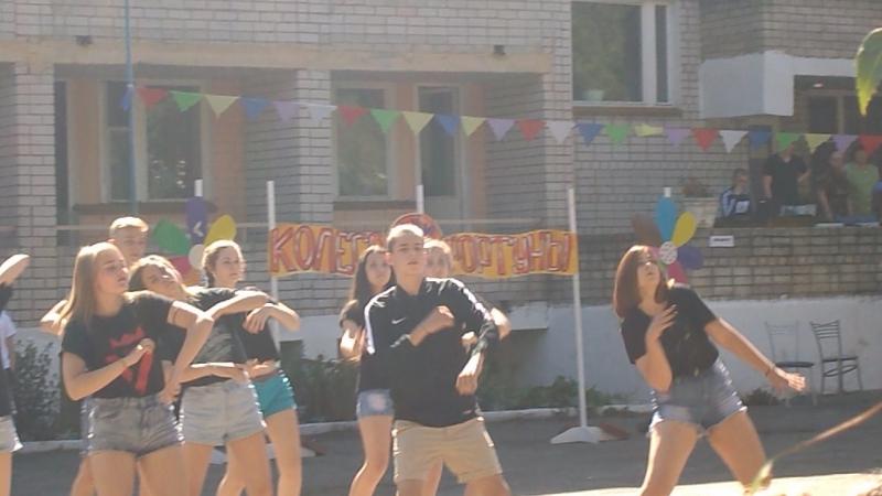 танец 1 отряд на день посещения
