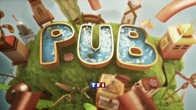 Рекламные заставки (TF1 [Франция], 2010-2012)