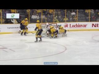 Нэшвилл - Нью-Джерси 4-5 (ОТ). 3.12.2016. Обзор матча НХЛ