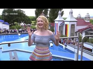 Sarah Jane Scott - Was war los gestern Nacht (ZDF-Fernsehgarten 19.06.2016)