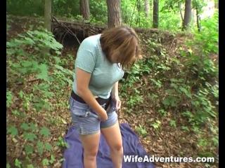 Трахнули зрелую в лесу фото 52-696