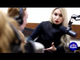 Юля Паго в студии радио СОК