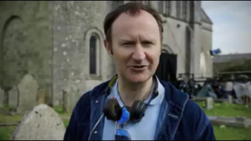 Mark Gatiss takes us behind the scenes of the The Six Thatchers' Christening scene... Sherlock
