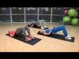 Упражнения для прокачки ягодиц и бицепса бедра