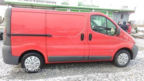 Opel Vivaro(груз), 2003г. Цена: 4473 грн./мес. в г.Мукачево№: 270074