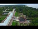 Петродворец, Петергоф, Аэросъемка. Petrodvorets, Peterhof, Aerial video. VIVOFLY