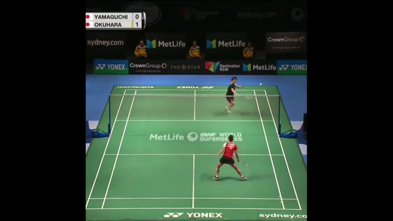 Final antara Akane Yamaguchi vs Nozomi Okuhara