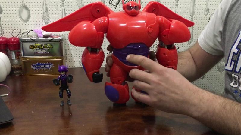Робот BIG HERO 6 Hiro Hamada, DISNEY Baymax 2014 (фильм Город героев по мотивам комиксов Marvel)