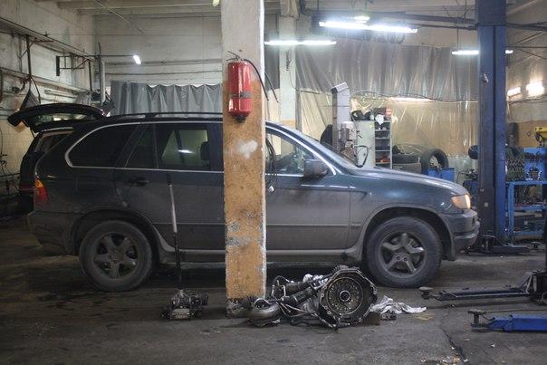 Диагностика двигателя BMW в Санкт-Петербурге