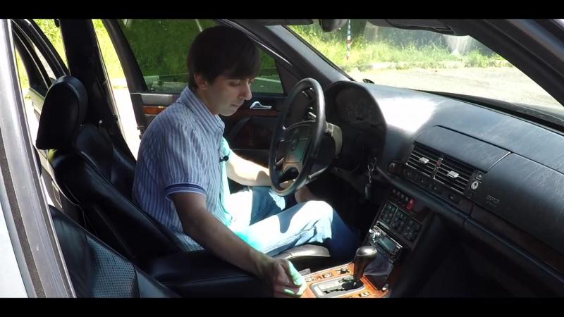 Наш MERCEDES W140 vs. W140 Lorinser в идеале только из Японии
