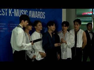 170920 EXO - Backstage Interview @ 2017 Soribada Best K-Music Awards