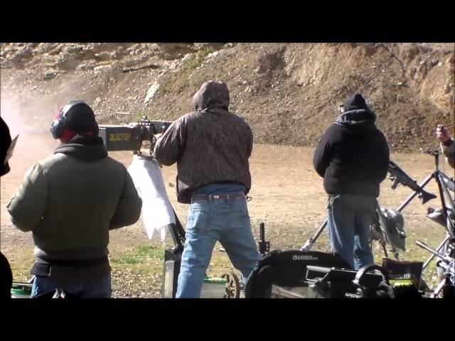 machine gun shoot 2016
