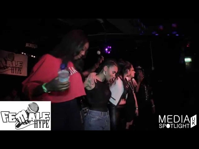 FemaleHype - Lady Lykez, Ms Banks, Laughta, C Cane, Nyomi Gray, Jodie Lea: Media Spotlight UK