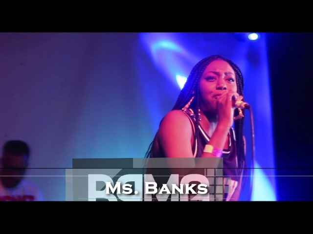 Ms Banks Performs New Single 'Say What' at BDL Tour Launch [@MsBanks94] | BRMG