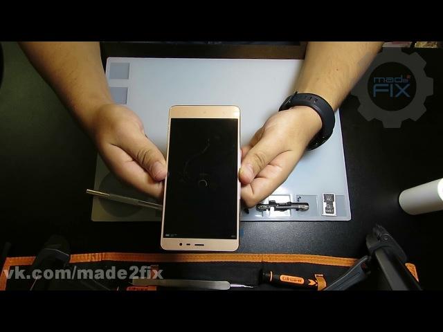 Xiaomi Redmi Note 3 Pro - замена экрана, разборка / сборка