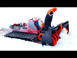 RC ADVENTURES - AMAZiNG 3D Printed Snow Blower - Tree Branch Clog - MUST SEE!