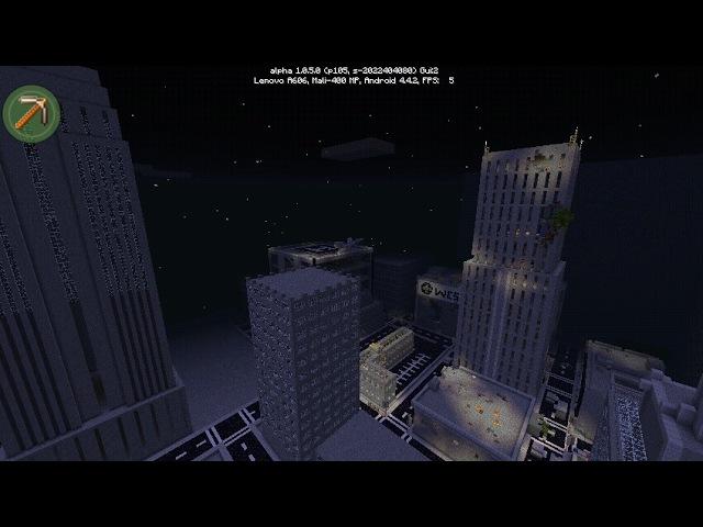 Horizon city для mcpe