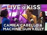 Camila Cabello &amp Machine Gun Kelly talk Bad Things, bald heads &amp more!