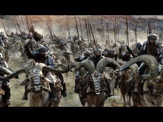 Битва между эльфами и гномами возле Одинокой Горы. Вырезанная сцена. Хоббит: Бит ...