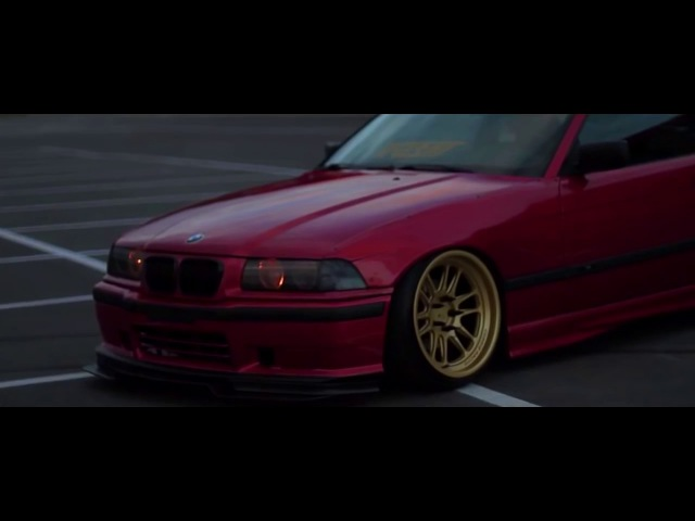 BMW E36 OLD SCHOO (Candy Apple Red)
