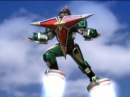 Samurai Star Chopper and Megazord First Battle Power Rangers Ninja Storm - Debut