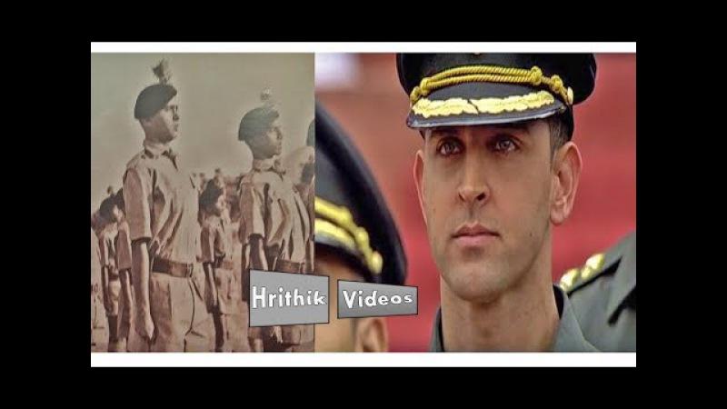 Rakesh Roshan Hrithik Roshan ~ In Indian Army Style