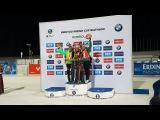 Тириль Экхофф выиграла спринт, Лаура Дальмайер - 2-я, Дарья Домрачева - 3-я - Контиолахти 2017