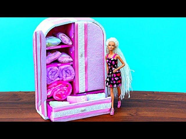 Шкаф для кукол своими руками быстро 29