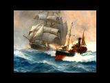 Художник Монтегю Доусон (Montague Dawson) Морской пейзаж.