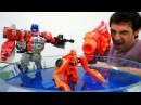 Игры Трансформеры 🌊 Десептиконы украли Воду Автоботы спасают Землю Видео иг