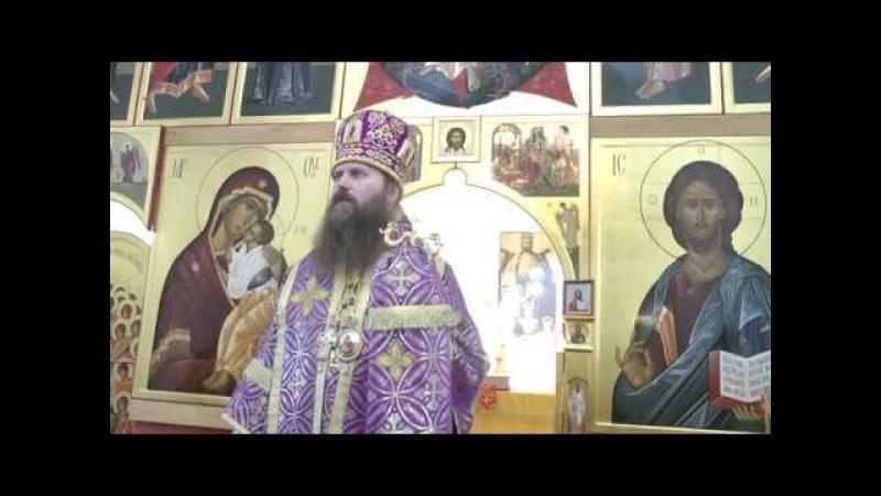 Слово в праздник Воздвижения Креста Господня. г. Колпашево 27.09.14 г.