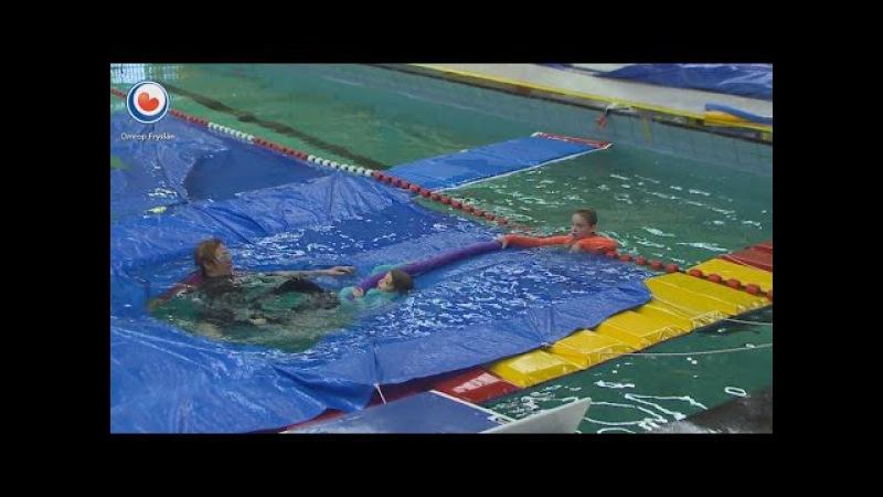 Wat moet je doen als je in een wak belandt Cursus 'wakzwemmen'