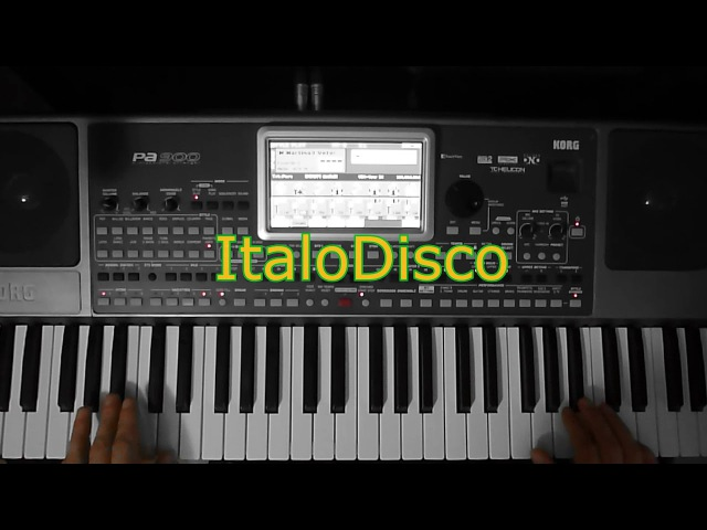Modern Martina- Wind and rain (Korg Pa 900) ItaloDisco Remix
