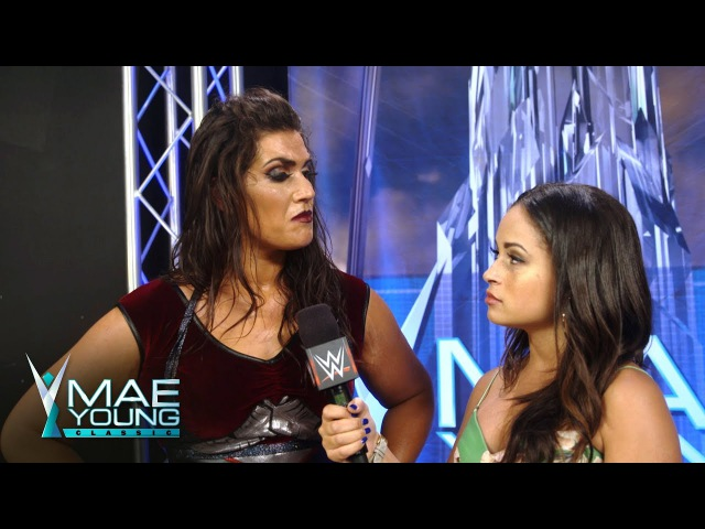 Sage Beckett questions Bianca Belair's dignity: Exclusive, Aug. 30, 2017