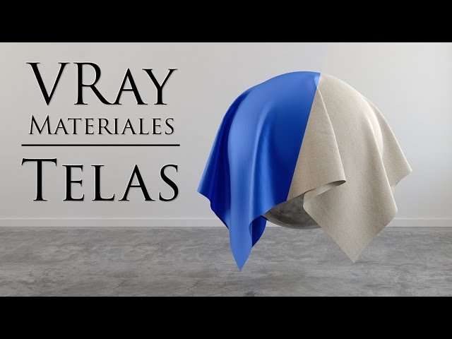 Materiales Vray Telas Lino Seda